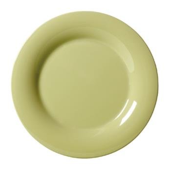 GETWP12AV - GET Enterprises - WP-12-AV - Harvest Avocado 12 in Wide Rim Plate Product Image