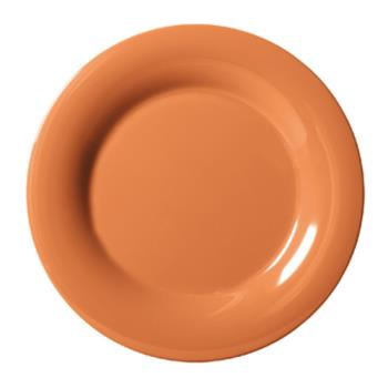 GETWP12PK - GET Enterprises - WP-12-PK - Harvest Pumpkin 12 in Wide Rim Plate Product Image