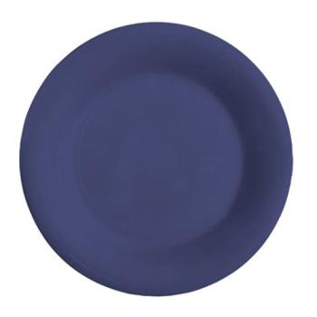 GETWP7PB - GET Enterprises - WP-7-PB - Mardi Gras Peacock Blue 7 1/2 in Wide Rim Plate Product Image