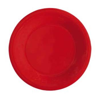 GETWP7RSP - GET Enterprises - WP-7-RSP - Red Sensation 7 1/2 in Wide Rim Plate Product Image