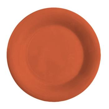GETWP9RO - GET Enterprises - WP-9-RO - Mardi Gras Rio Orange 9 in Wide Rim Plate Product Image