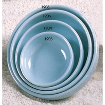 "THG1905 - Thunder Group - 1905 - 5 1/2"" Blue Jade Flat Bowl Product Image"