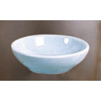 THG3955 - Thunder Group - 3955 - 9 oz. Blue Jade Flat Bowl Product Image