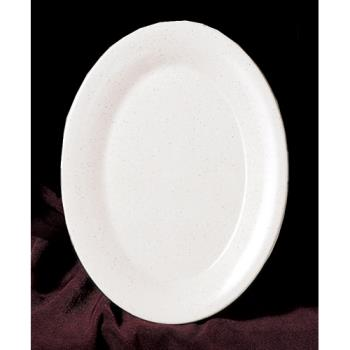 "THGAD214WS - Thunder Group - AD214WS - 14"" x 10"" San Marino Oval Platter Product Image"