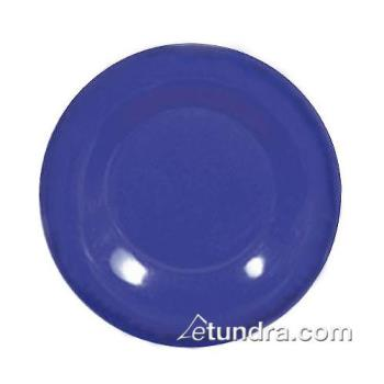 "THGCR006BU - Thunder Group - CR006BU - 6 1/2"" Blue Wide Rim Round Plate Product Image"