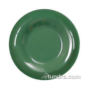 "THGCR009GR - Thunder Group - CR009GR - 9"" Green Wide  Rim Round Plate Product Image"