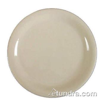 "THGCR107V - Thunder Group - CR107V - 7 1/4"" Ivory Narrow Rim Round Plate Product Image"