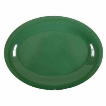 "THGCR213GR - Thunder Group - CR213GR - 13 1/2"" x 10 1/2"" Green Platter Product Image"