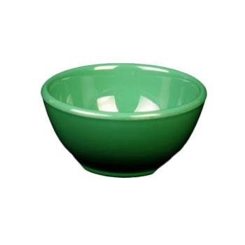 "THGCR5804GR - Thunder Group - CR5804GR - 10 oz x 4 5/8"" Green Soup Bowl Product Image"