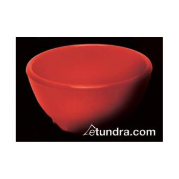 "THGCR5804PR - Thunder Group - CR5804PR - 10 oz x 4 5/8""  Pure Red Soup Bowl Product Image"