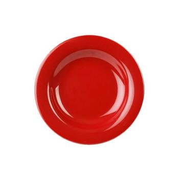 THGCR5809PR - Thunder Group - CR5809PR - 13 oz Pure Red Salad Bowl Product Image