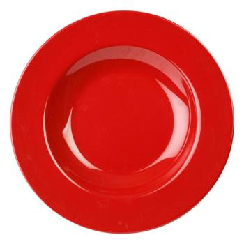 THGCR5811PR - Thunder Group - CR5811PR - 16 oz Pure Red Pasta Bowl Product Image