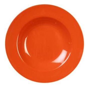 THGCR5811RD - Thunder Group - CR5811RD - 16 oz Red-Orange Pasta Bowl Product Image