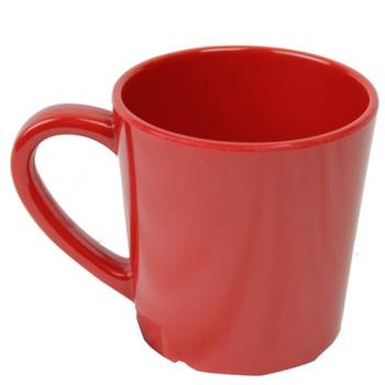 THGCR9018PR - Thunder Group - CR9018PR - 7 oz Pure Red Mug/Cup Product Image