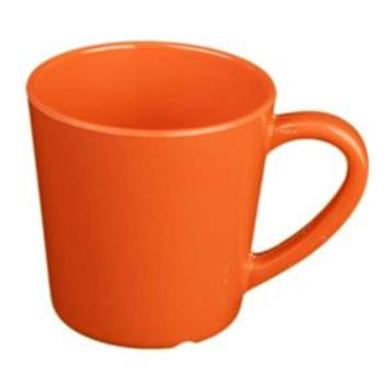 THGCR9018RD - Thunder Group - CR9018RD - 7 oz Red-Orange Mug/Cup Product Image