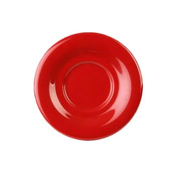 "THGCR9108PR - Thunder Group - CR9108PR - 5 1/2"" Pure Red Saucer for 8 oz Mug Product Image"