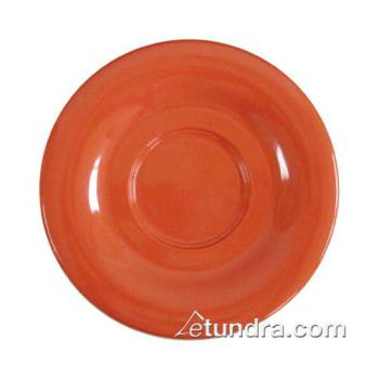 "THGCR9108RD - Thunder Group - CR9108RD - 5 1/2"" Red-Orange Saucer for 8 oz Mug Product Image"