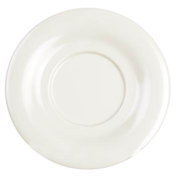 "THGCR9303V - Thunder Group - CR9303V - 5 1/2"" Ivory Saucer for 7 oz Bouillon Cup Product Image"