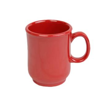 THGN901PR - Thunder Group - N-901PR - 8 oz Pure Red Bulbous Mug Product Image