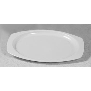 "THGNS209W - Thunder Group - NS209W - 9 1/2"" Nustone White Rectangular Platter Product Image"