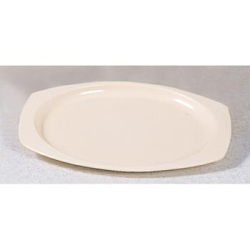"THGNS215T - Thunder Group - NS215T - 15"" x 10 5/8"" Nustone Tan Platter Product Image"