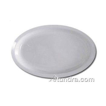 "THGNS512W - Thunder Group - NS512W - 11 1/2"" x 8""  Nustone White Platter Product Image"