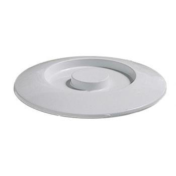 "THGNS608CW - Thunder Group - NS608CW - 8 1/4"" Nustone White Server Lid Product Image"