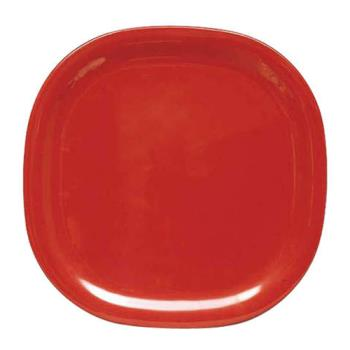 "THGPS3010RD - Thunder Group - PS3010RD - 10 3/4"" Passion Red Round Square Plate Product Image"