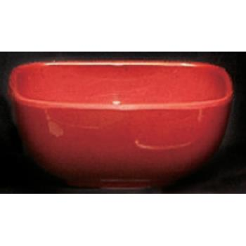 THGPS3103RD - Thunder Group - PS3103RD - 4 oz. Passion Red Square Bowl Product Image