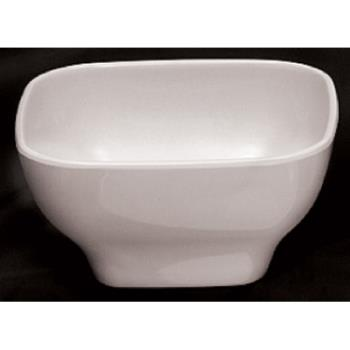 THGPS3105W - Thunder Group - PS3105W - 12 oz. Passion White Round Square Bowl Product Image
