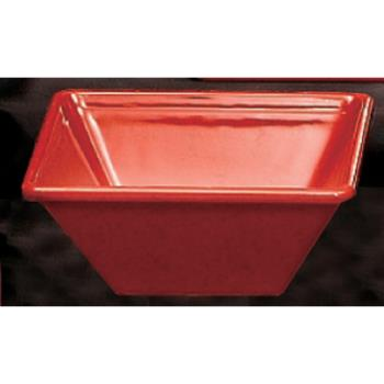 THGPS5005RD - Thunder Group - PS5005RD - 8 oz. Passion Red Square Bowl Product Image