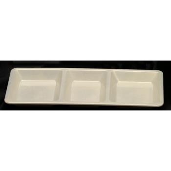 THGPS5103V - Thunder Group - PS5103V - Passion Pearl 3 Section Rectangle Compartment Tray Product Image
