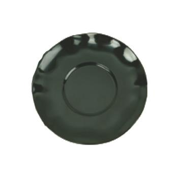 "THGRF1065BW - Thunder Group - RF1065BW - 6.5"" Black Pearl Saucer for Soup Mug Product Image"