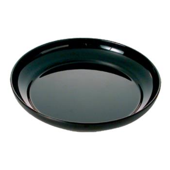 "THGRF1112B - Thunder Group - RF1112B - 12"" Black Pearl Salad Plate Product Image"