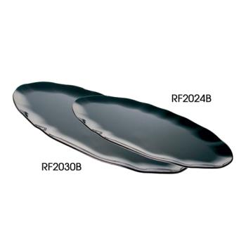 "THGRF2030B - Thunder Group - RF2030B - 30"" x 12"" Black Pearl Oval Platter  Product Image"