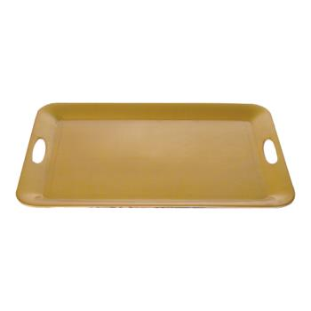 "THGRF2920G - Thunder Group - RF2920G - 19 1/2"" x  14 1/2"" Gold Pearl Rectangle Serving Tray Product Image"