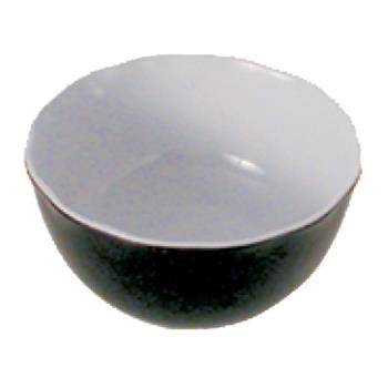 "THGRF5065BW - Thunder Group - RF5065BW - 6.5"" x 3"" Two Tone Black Pearl All Purpose Bowl Product Image"