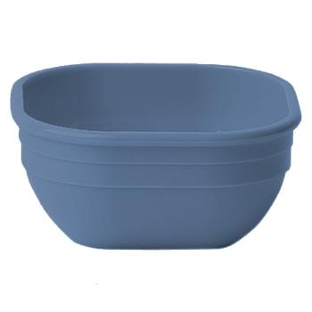 CAM10CW401 - Cambro - 10CW - Camwear® Square 9.4 oz Slate Blue Bowl Product Image