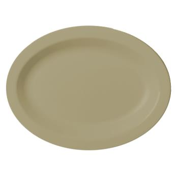CAM120CWP133 - Cambro - 120CWP133 - Camwear® 12 in X 9 in Oval Beige Platter Product Image