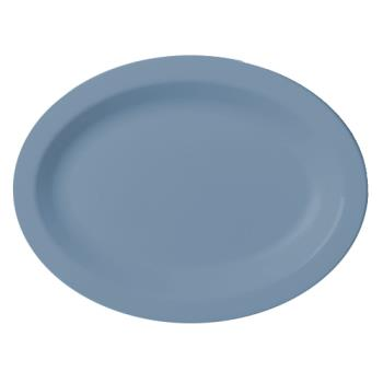 CAM120CWP401 - Cambro - 120CWP401 - Camwear® 12 in X 9 in Oval Slate Blue Platter Product Image