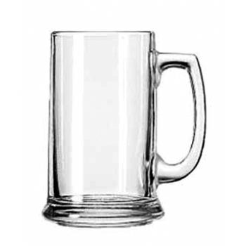 LIB5011 - Libbey Glassware - 5011 - 15 oz Plain Handled Beer Mug Product Image