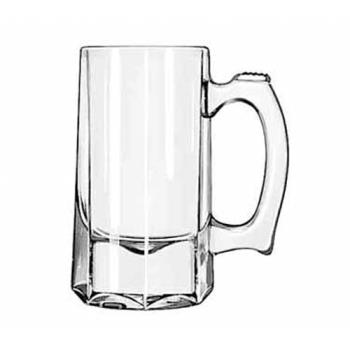 LIB5205 - Libbey Glassware - 5205 - 10 oz Octagon Bottomed Beer Mug Product Image