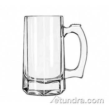 LIB5206 - Libbey Glassware - 5206 - 12 oz Octagon Bottomed Beer Mug Product Image