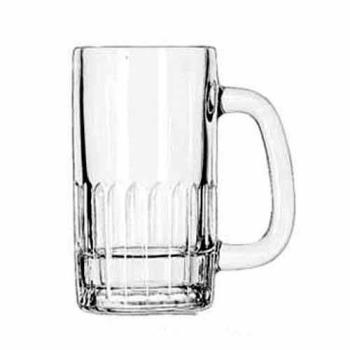 LIB5309 - Libbey Glassware - 5309 - 12 oz Paneled Beer Mug Product Image