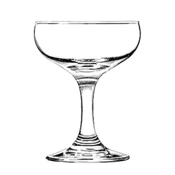 LIB3773 - Libbey Glassware - 3773 - Embassy 5 1/2 oz Champagne Glass Product Image