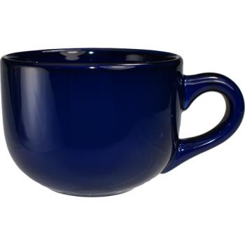 ITW82204 - International Tableware - 822-04 - 14 oz Cancun™ Cobalt Blue Latte Cup Product Image