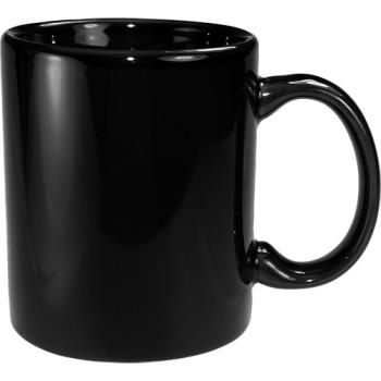 ITW8716805 - ITI - 87168-05 - 12 Oz Cancun™ Black C-Handle Mug Product Image