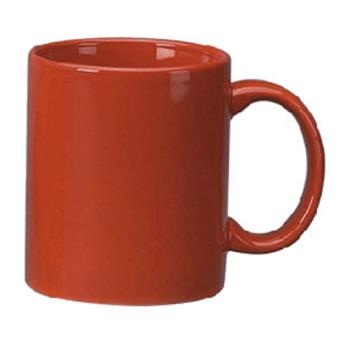 ITW871682194 - International Tableware - 87168-2194 - 12 Oz Cancun™ Red C-Handle Mug Product Image