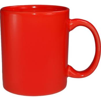 ITW871682194 - ITI - 87168-2194 - 12 Oz Cancun™ Red C-Handle Mug Product Image