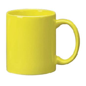 ITW87168242 - ITI - 87168-242 - 12 Oz Cancun™ Yellow C-Handle Mug Product Image